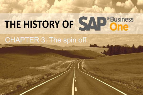 SAP Business One: The spin off