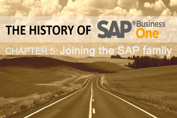 SAP Business One: Joining the SAP family