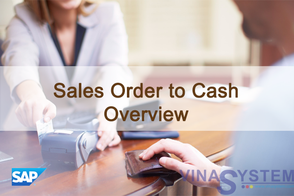 Sales Order to Cash in SAP Business One - Sales Order to Cash Overview