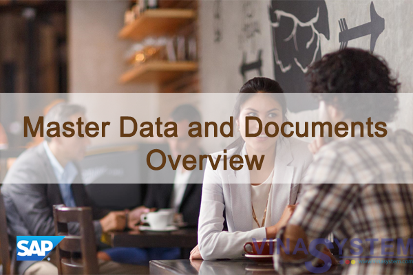 Master Data and Documents in SAP Business One - Overview