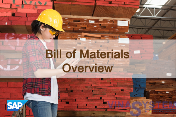Bill of Materials in SAP Business One - Bill of Materials Overview