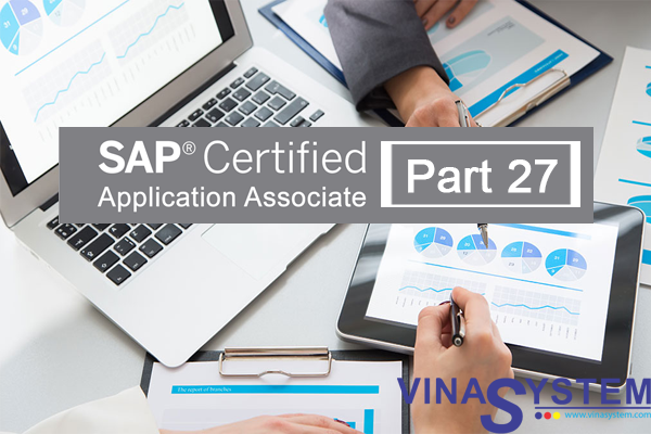 SAP Certified Application Associate - SAP Business One Release (Part 27)